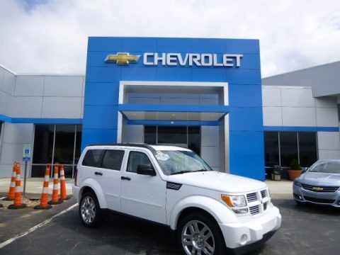 Bright White 2011 Dodge Nitro Heat