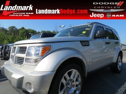 Bright Silver Metallic 2011 Dodge Nitro Heat 4.0
