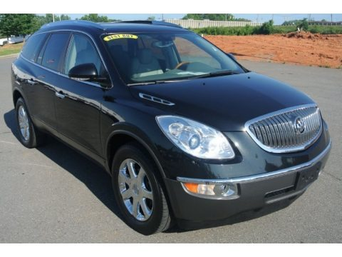Carbon Black Metallic 2008 Buick Enclave CXL