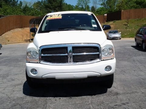 Bright White 2005 Dodge Durango SLT