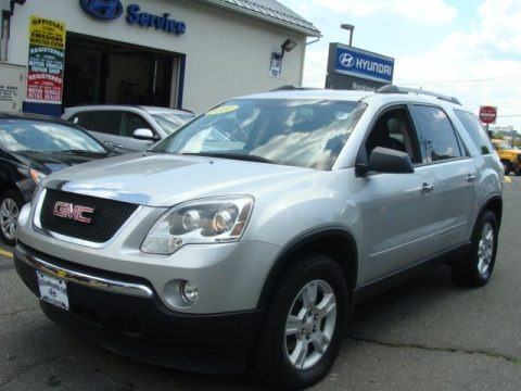 Quicksilver Metallic 2010 GMC Acadia SLE