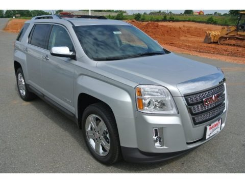 Quicksilver Metallic 2013 GMC Terrain SLT