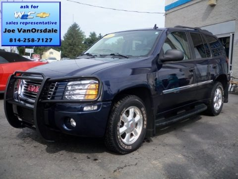 Midnight Blue Metallic 2007 GMC Envoy SLE 4x4