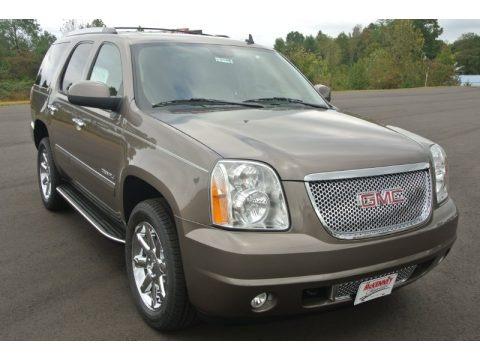 Mocha Steel Metallic GMC Yukon Denali AWD SUVs for sale ...