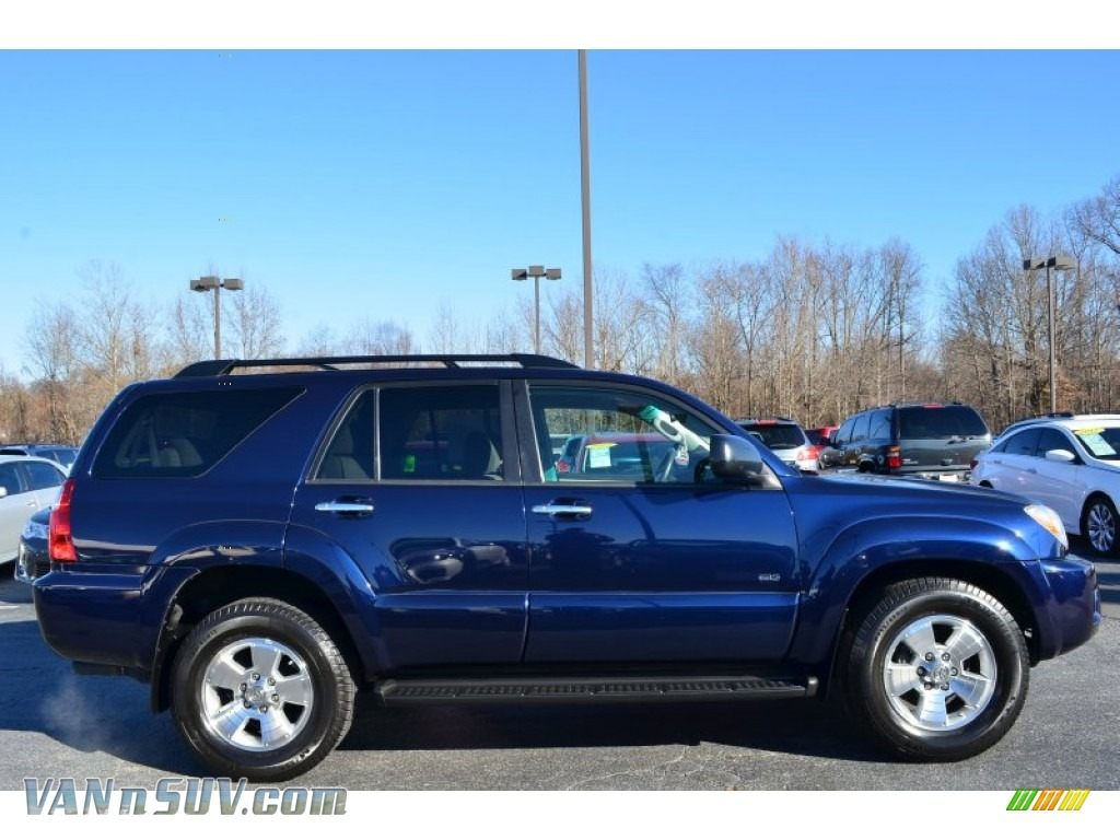 2008 Toyota 4runner Sr5 In Nautical Blue Metallic Photo 2
