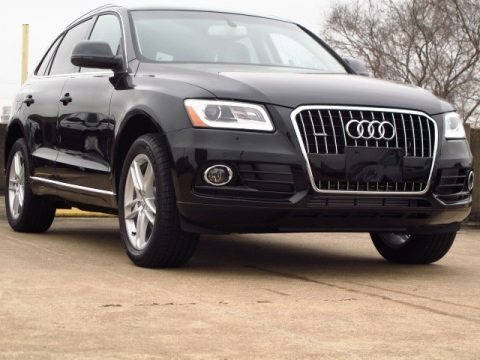 Brilliant Black 2014 Audi Q5 3.0 TDI quattro