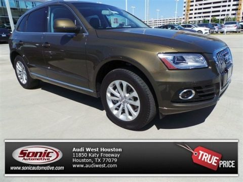 Maya Brown Metallic 2014 Audi Q5 2.0 TFSI quattro