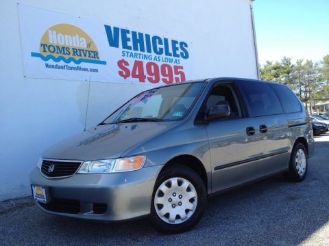 Granite Green Metallic 2000 Honda Odyssey LX