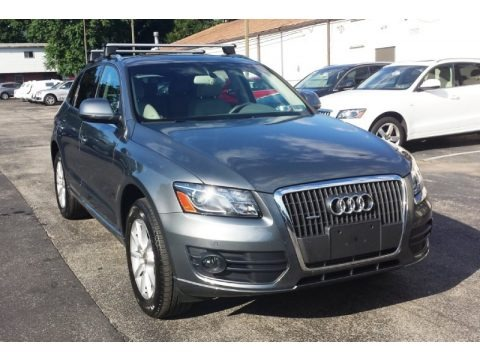 Monsoon Gray Metallic 2012 Audi Q5 2.0 TFSI quattro