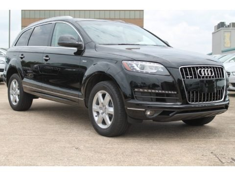 Night Black 2015 Audi Q7 3.0 Premium Plus quattro
