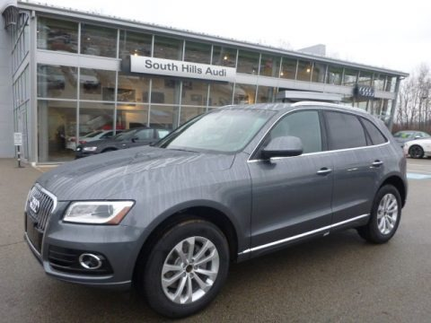 Monsoon Gray Metallic 2015 Audi Q5 2.0 TFSI Premium Plus quattro